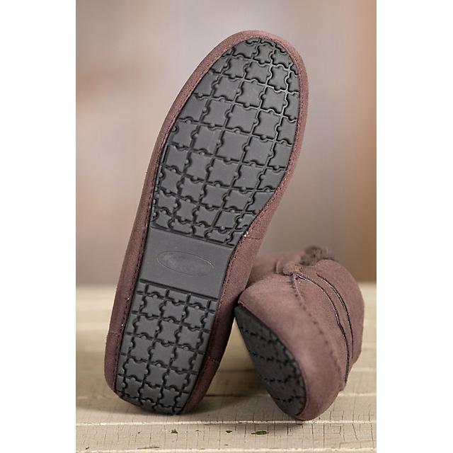 Women′s Winter Sheepskin Moccasin Slippers