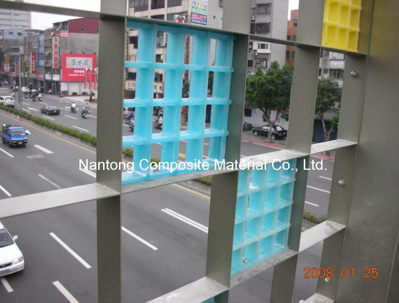 GRP Fiberglass Translucent Grating/Molded Grating/FRP Decoration Grating