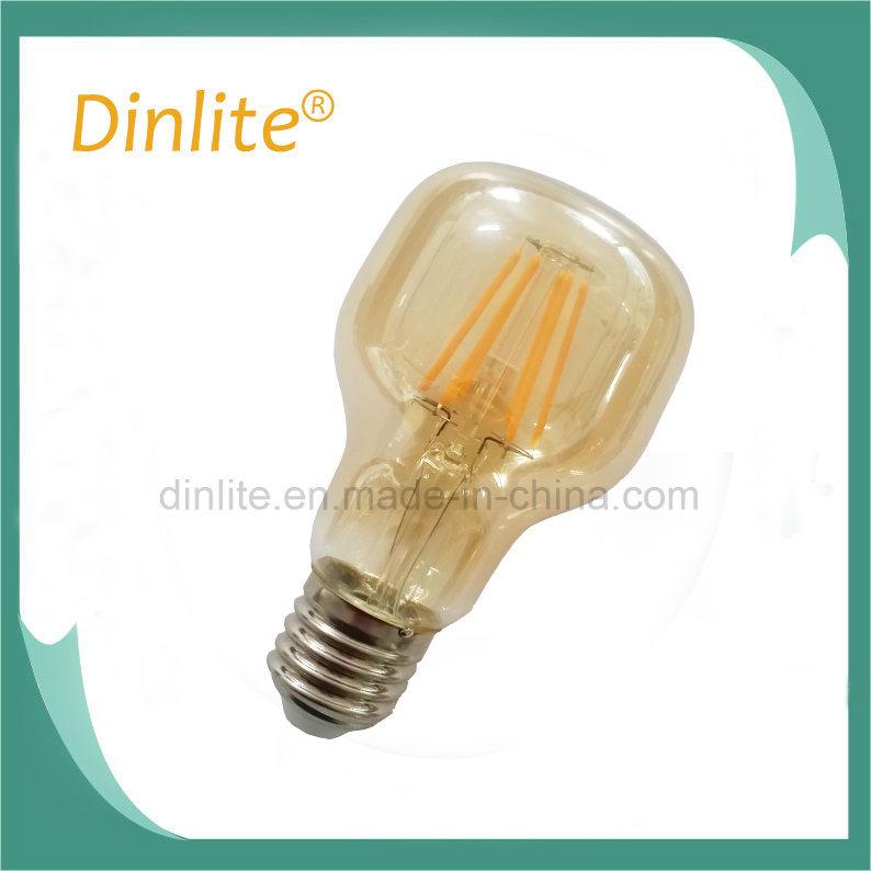 Hammer shape LED decorative lamp with brass base