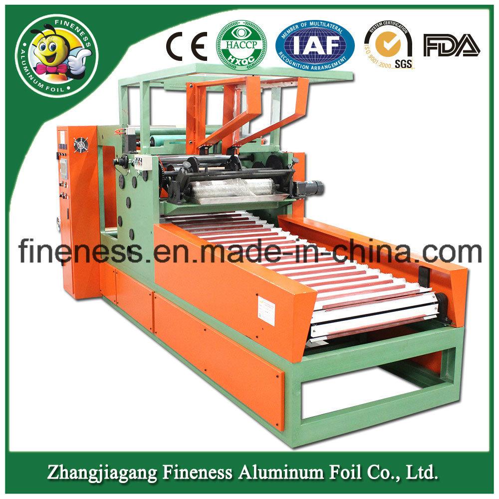 High Quality Automatic Aluminium Foil Cutting and Making Machine