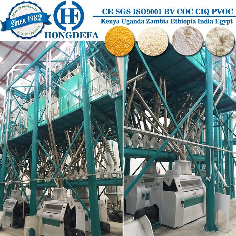 Automatic Maize Flour Mill Machine Maize Mill