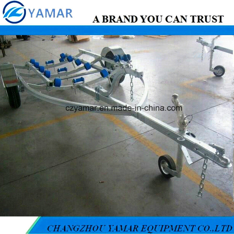 Light Duty Boat Trailer with Roller System