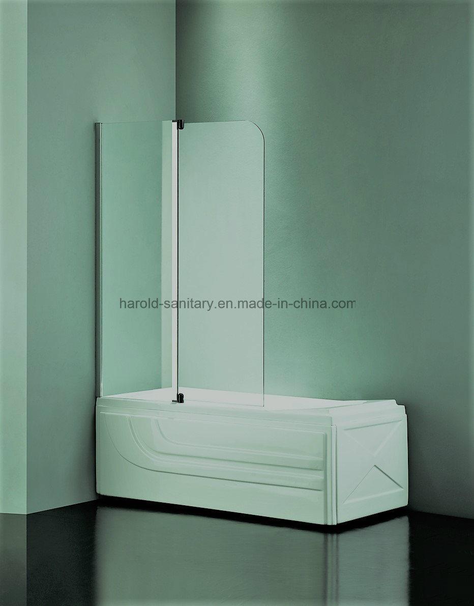 HR-P010 Lift-off Pivot Swing Bathtub Screen / Shower Screen