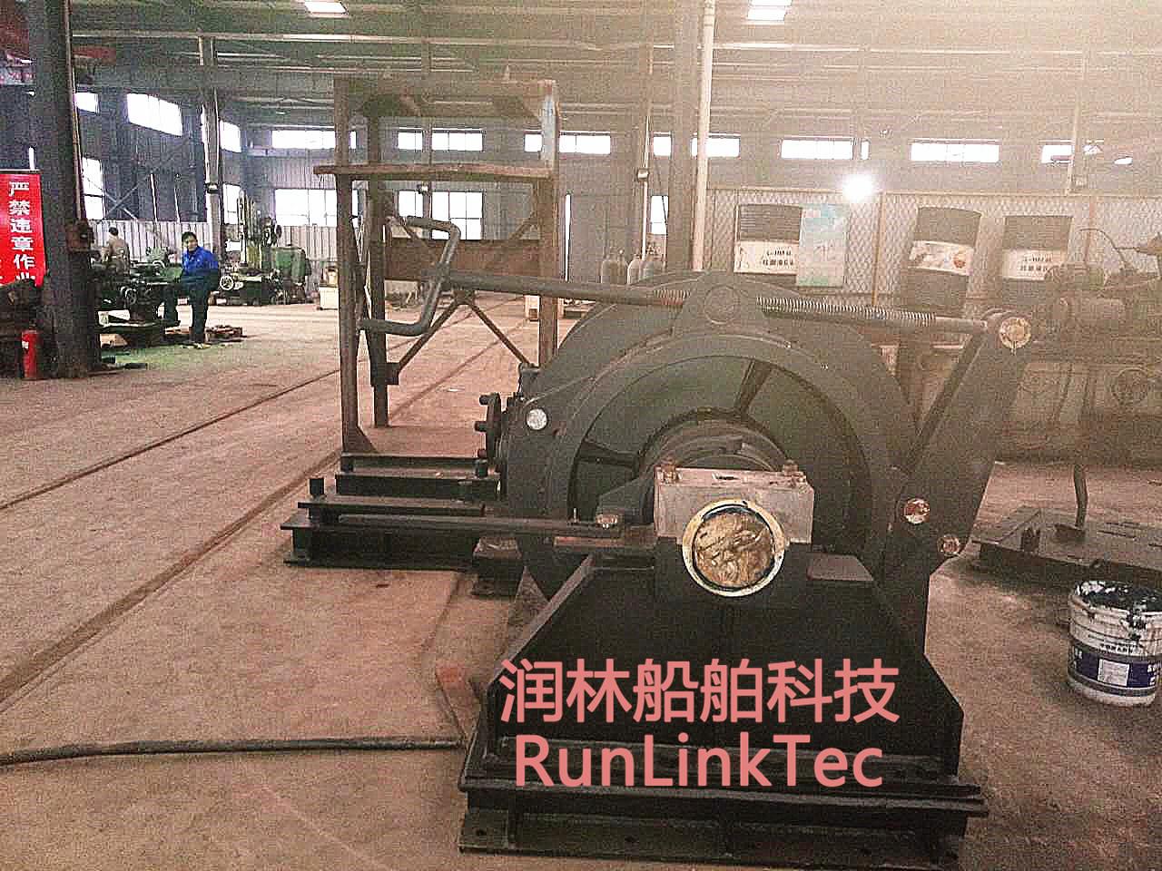 100kn Diesel Winch/Marine Equipment/Explosion-Proof Diesel Winch/Ship Building Equipment