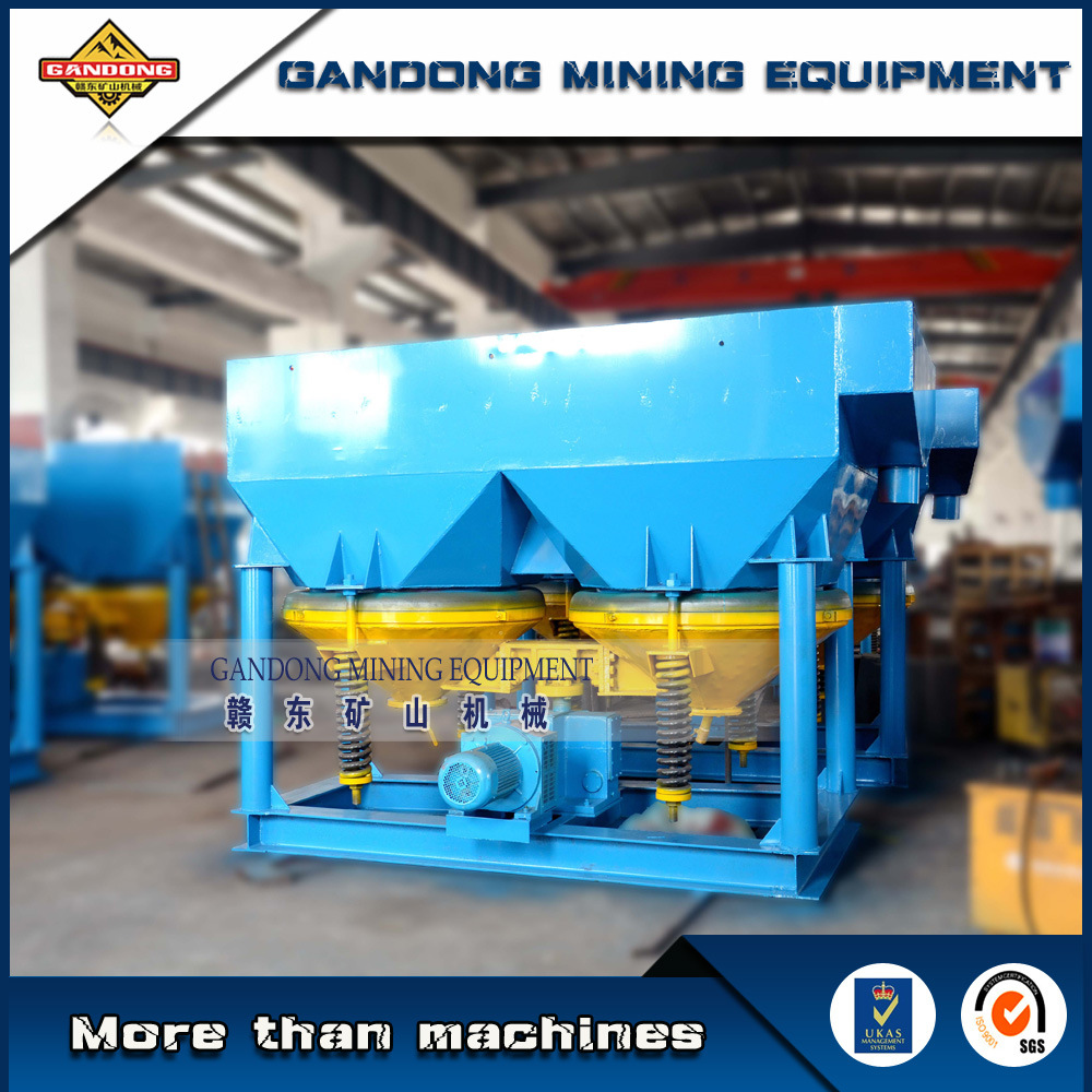 High Efficiency Alluvial Gold Mining Machine Gravity Jig Machine