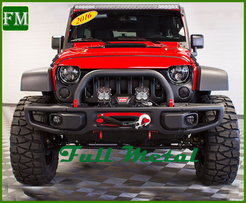 Ave Front Steel Bumper for Jeep Wrangler Jk Auto Accessories