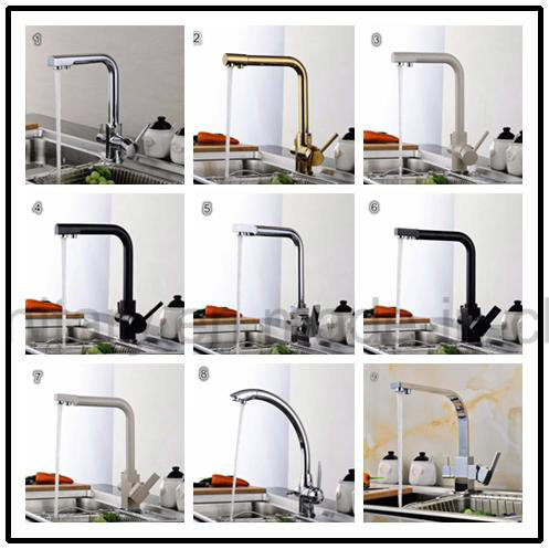 3 Function Water Filter System Stone Surface Kitchen Faucet