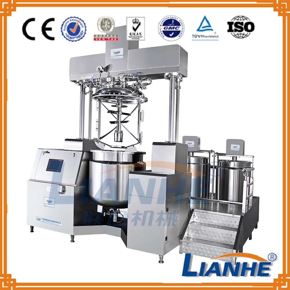 500L Vacuum Emulsifing Mixer Cosmetic Machine