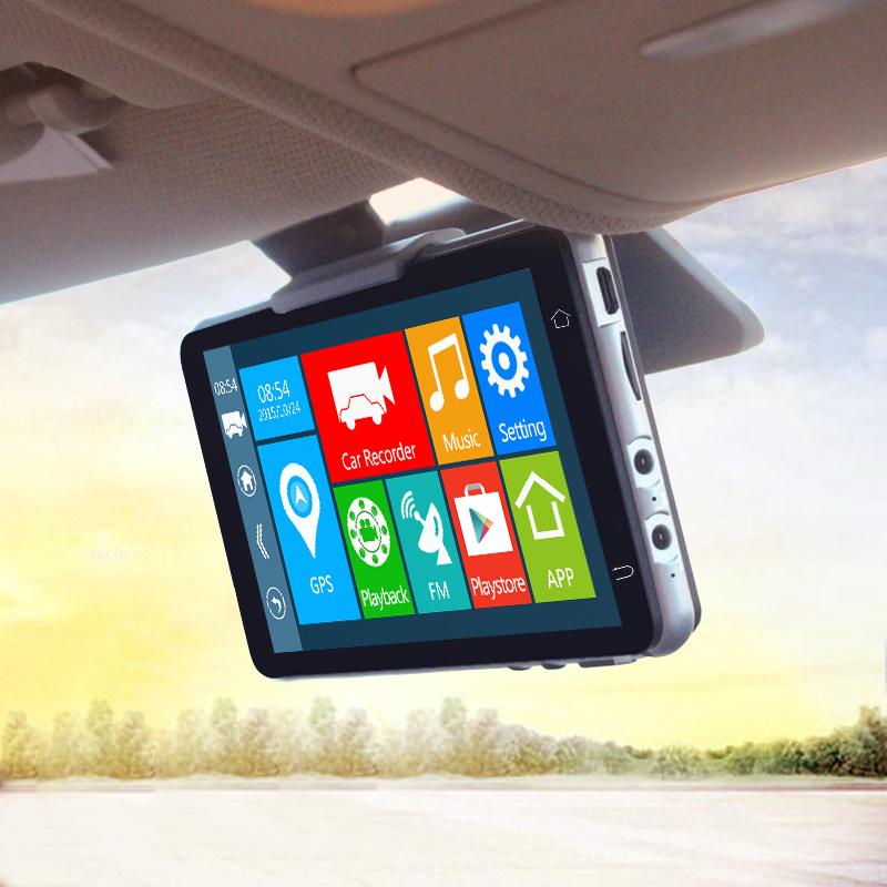 WiFi Rear View 1080P Car Camera DVR Tracker Navigation GPS