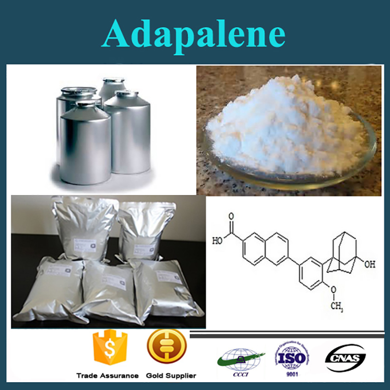 High Purity Pharmaceutical Raw Powder CAS 106685-40-9 Adapalene