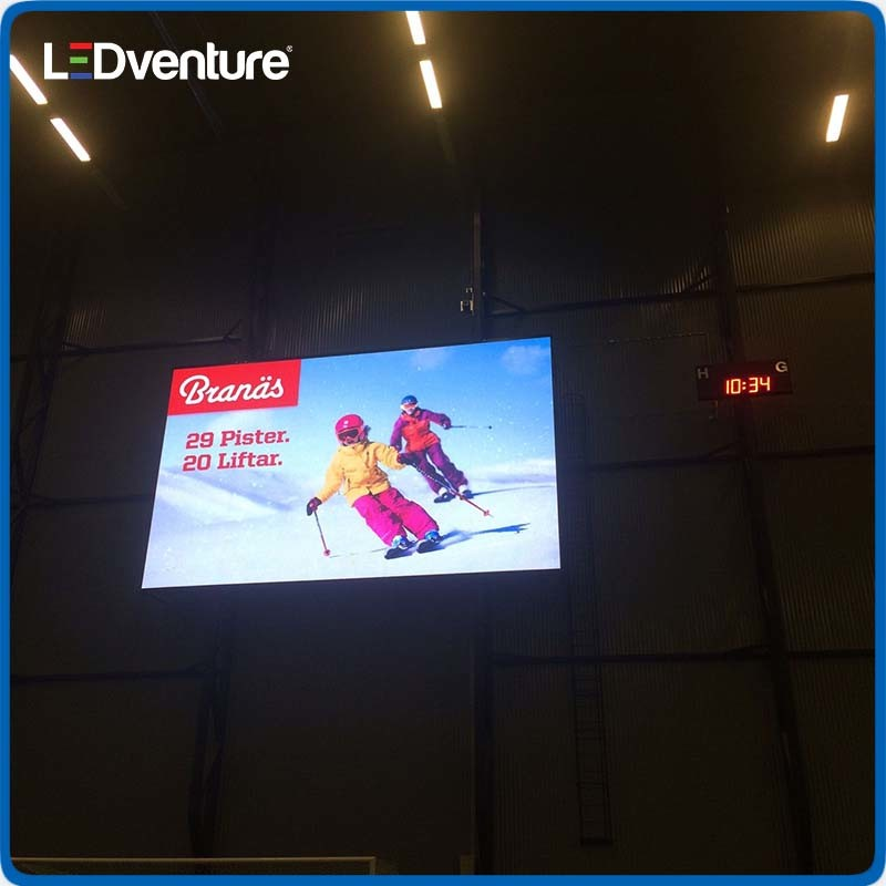 pH10 Full Color Indoor SMD LED Display Panel for Commercial Advertising