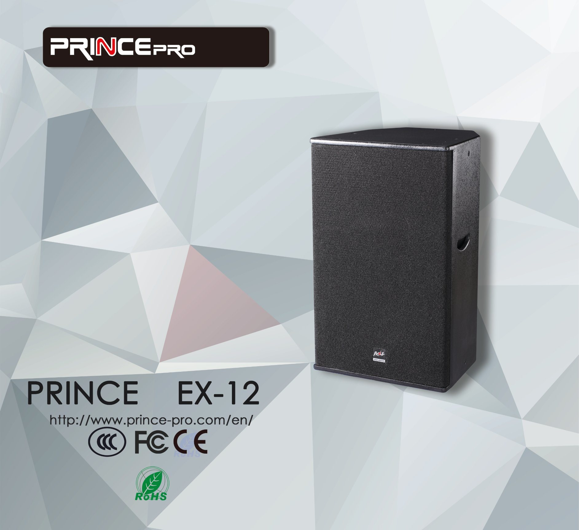 Prince dB Mixer Top PRO Audio Speaker