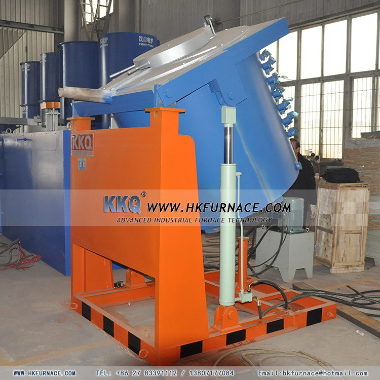 Tipping Crucible Rapid Aluminium Melting Furnace