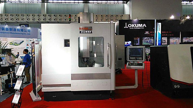 Five Axis Horizontal Boring and Milling CNC Machine (DU650)