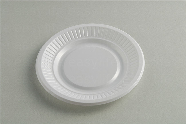 Shape 5 Easylife Various Disposable PS Plastic Round Plate