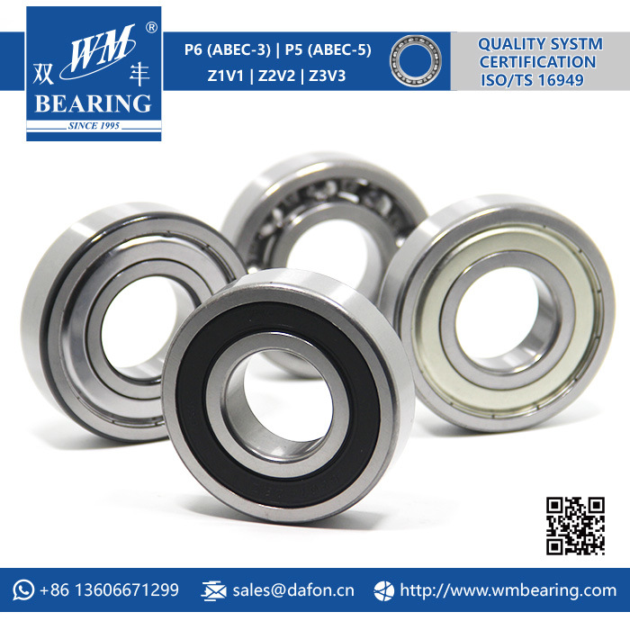6307 2RS Low Friction Sealed Deep Groove Ball Bearing