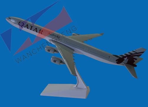 Plastic Plane Model (A340-600)