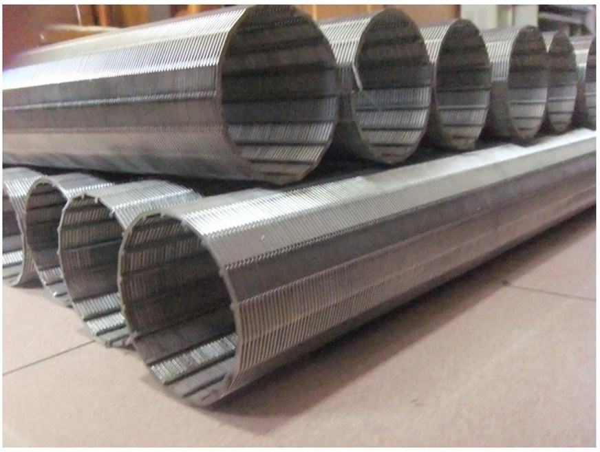 China Looped Wedge Wire Screen, Welded Profile Wire Screen - China ...