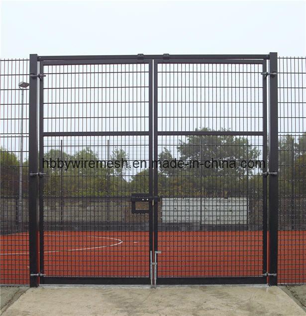 China wire mesh fence gate by fga single leaf