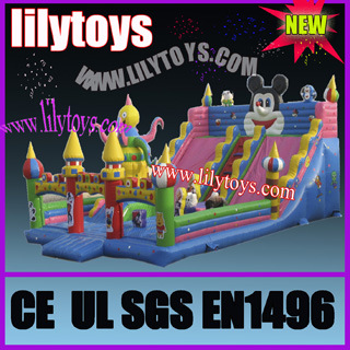Inflatable Amusement Park, Inflatable Castle, Inflatable Fun City