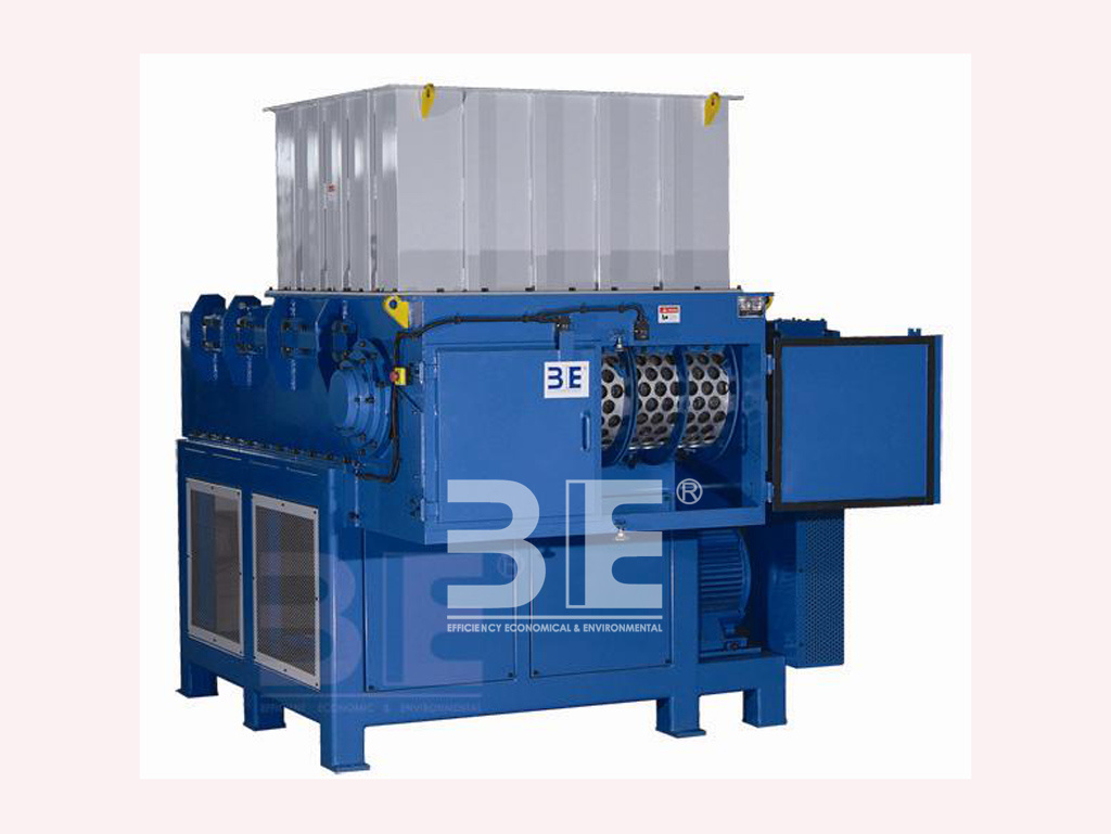 Single Shaft Shredder of Plastic Barrels/ Plastic Purging Shredder
