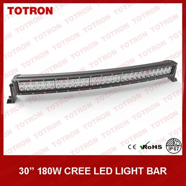 "31.5"" 180W CREE Curved LED Flood/Spot/Combo Light (TLB3180X)"