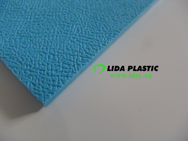 PP Embossed Blue Sheet