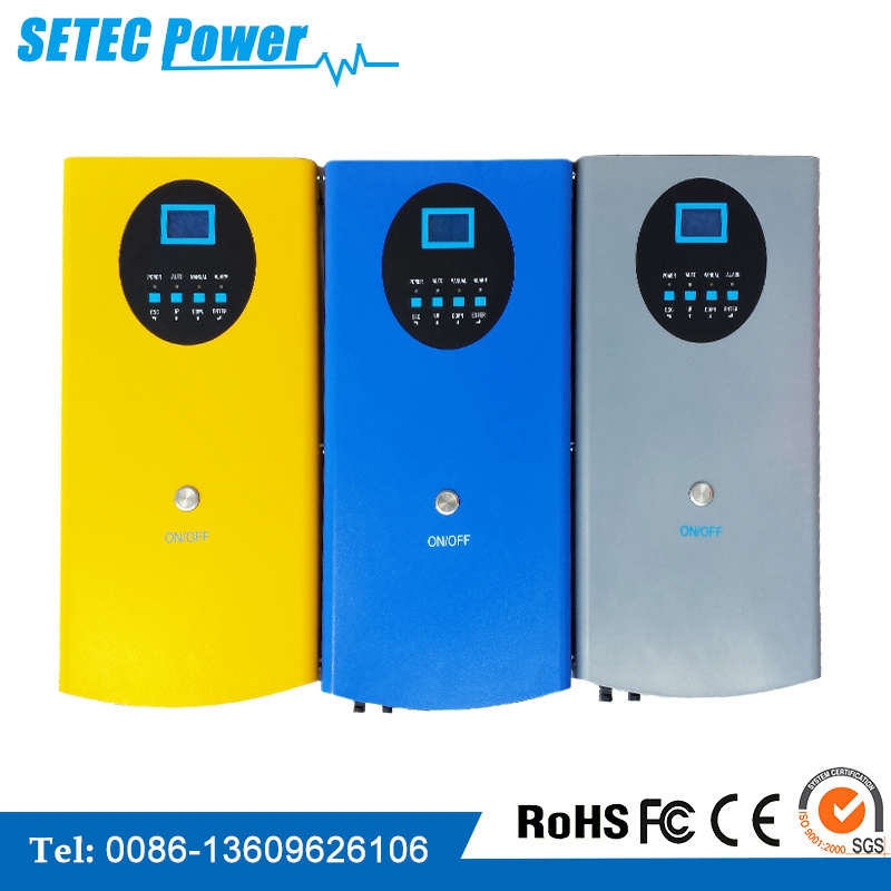 Solar Power Inverter for 5HP 220V/380VAC Pumps, CE SGS Approved