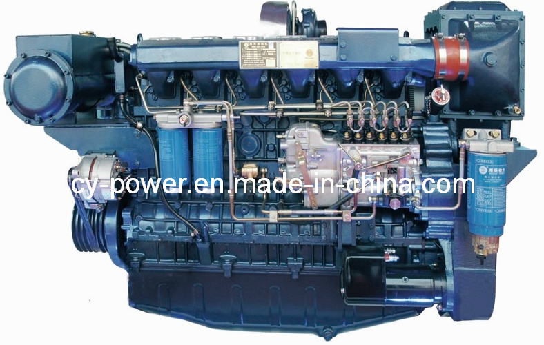 Wp12 Series Marine Engine, 258-330kw, Weichai