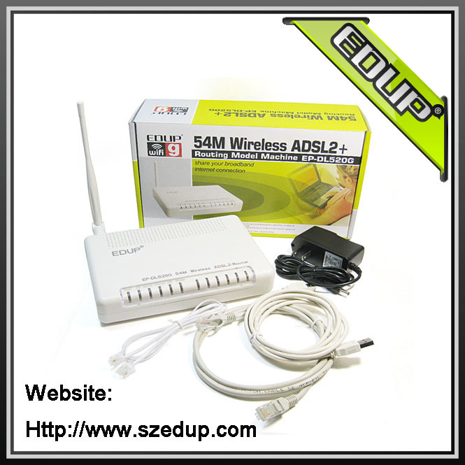 adsl modem wireless. 54Mbps ADSL2+ Modem Wireless