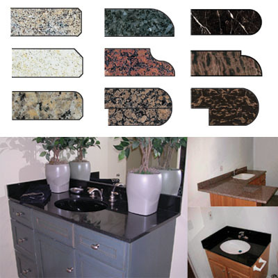 Vanity Tops on Granite Counter Tops  Granite Vanity Tops In Countertop   Vanity Top