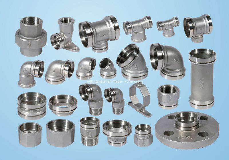China lbs stainless steel pipe fittings npt thread