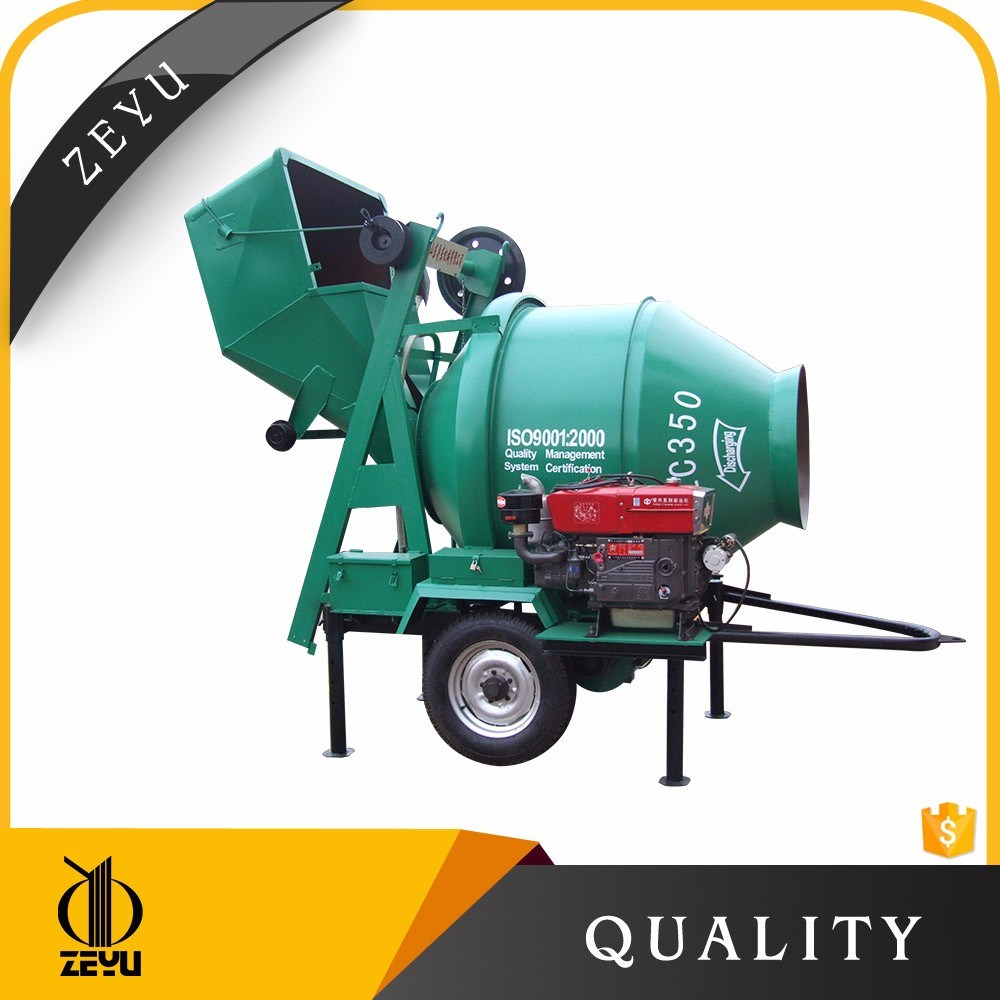 Factory Price for Portable Concrete Mixer Jzc350