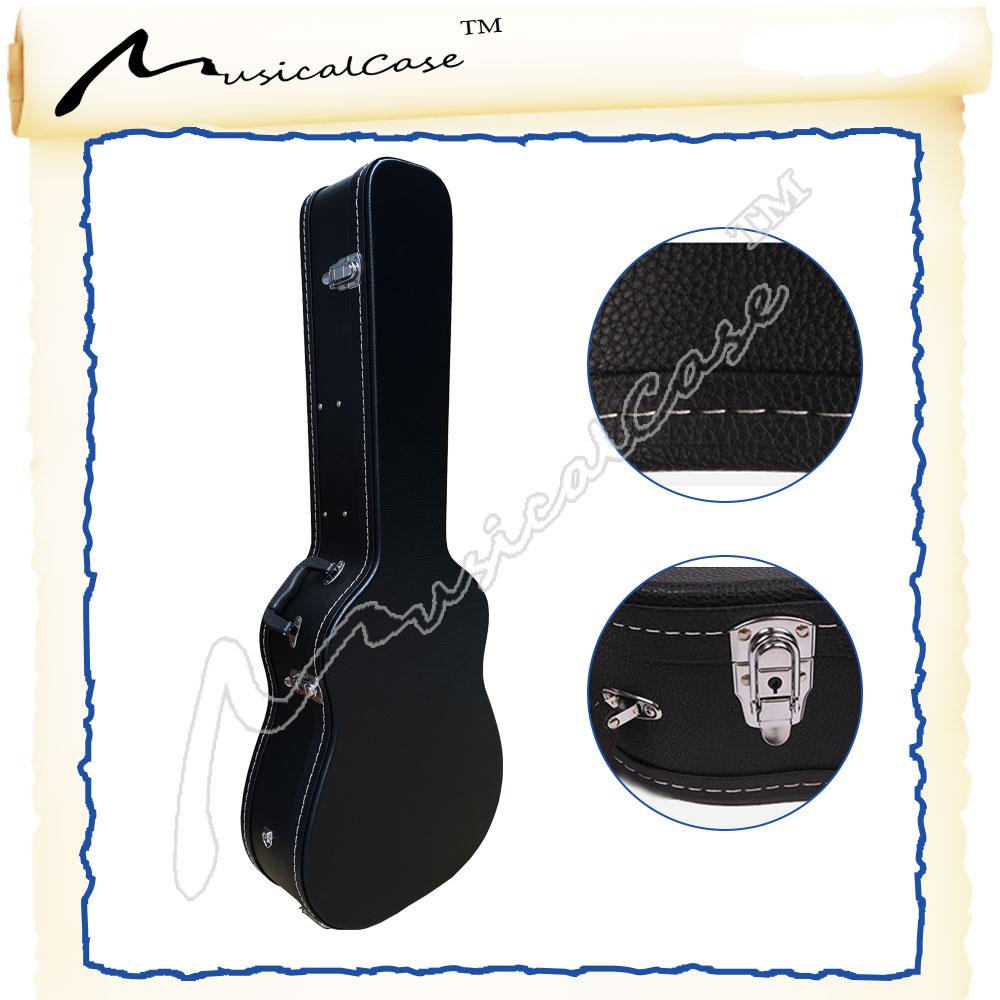 Cheap Black Color Hard Guitar Case