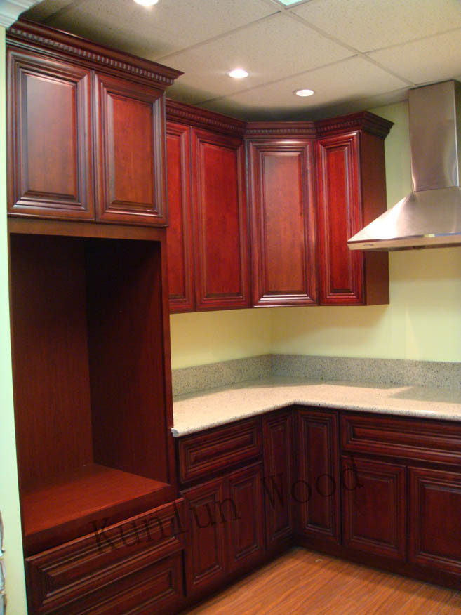 China Kitchen Cabinet Showroom Panache Cherry Photos Pictures