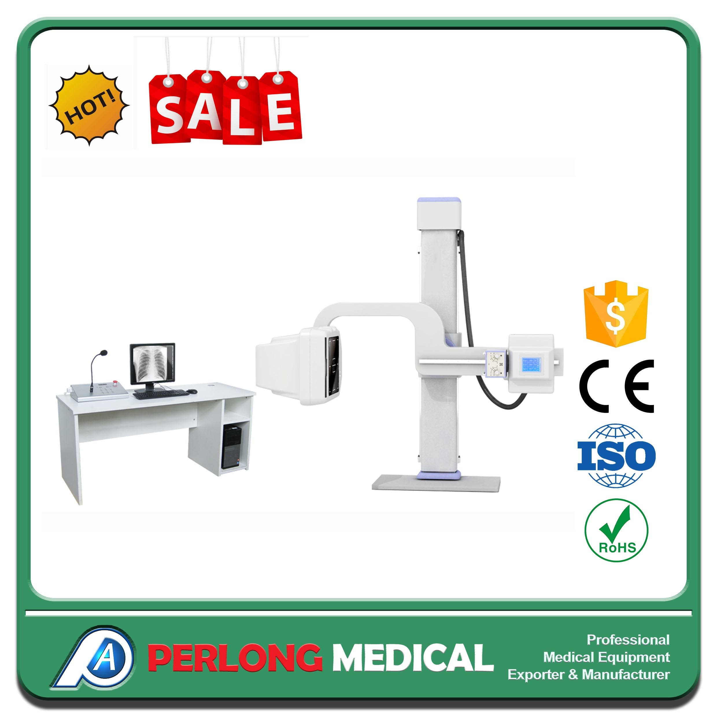200mA Medical Equipment High Frequency Digital X Ray Machine