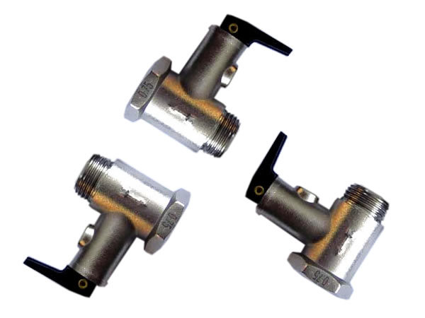 water heater safety valve