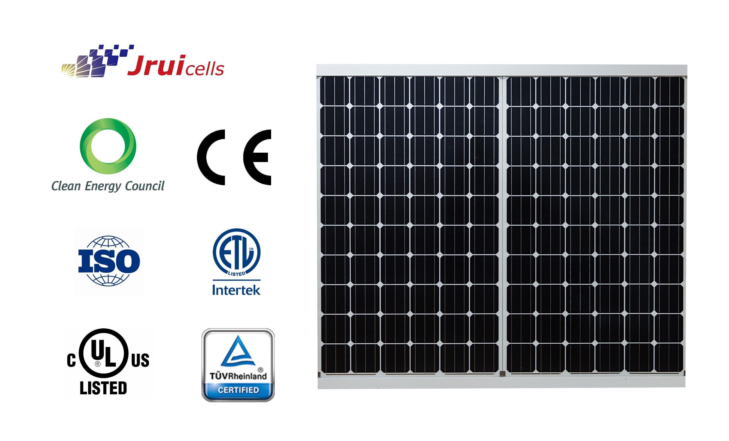 Solar Panel Mono Crystalline Mudule 305W