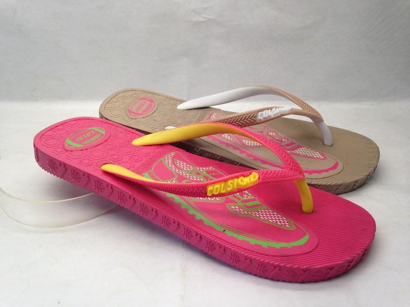 OEM PE/PVC/EVA Slipper Flip Flop for Lady