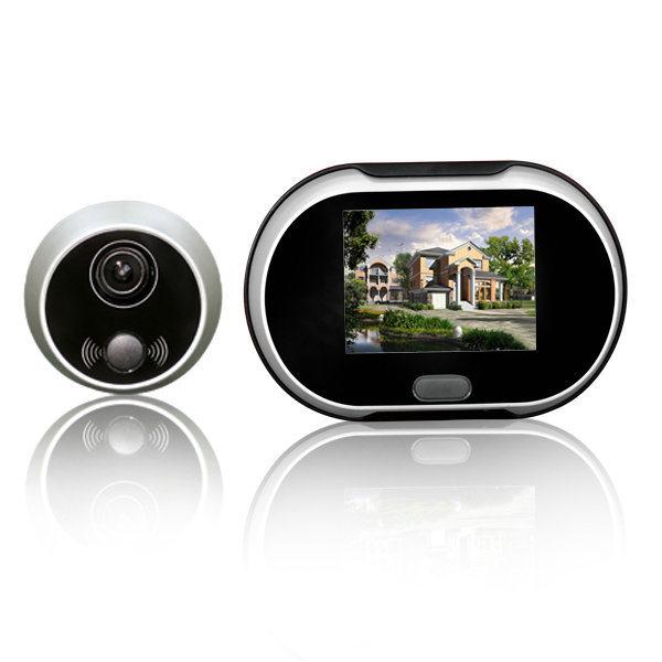 3.5 Inch Screen Digital Door Viewer with Doorbell