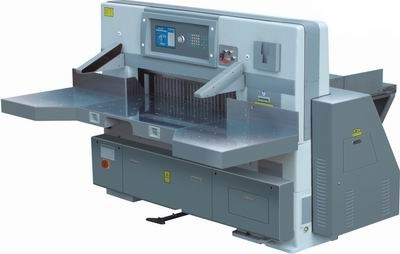 Program Control Double Hydraulic Double Guide Paper Cutting Machine (QZYK920D)