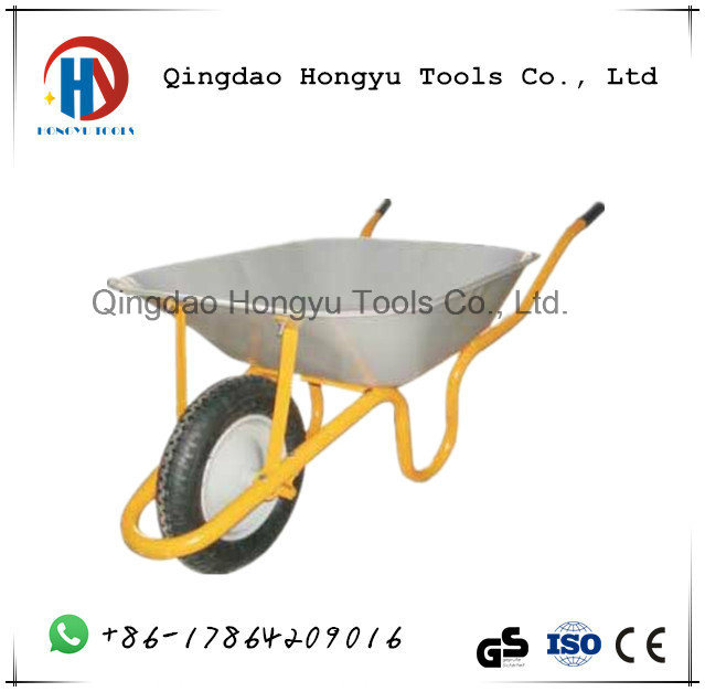 Zinc Plated/Paint Superior Quality Wb3808 Wheel Barrow