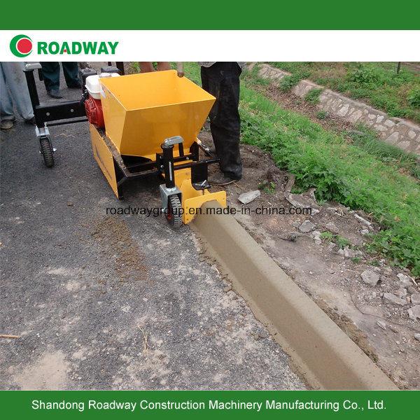 Automatic Concrete Curb Slipform Paver