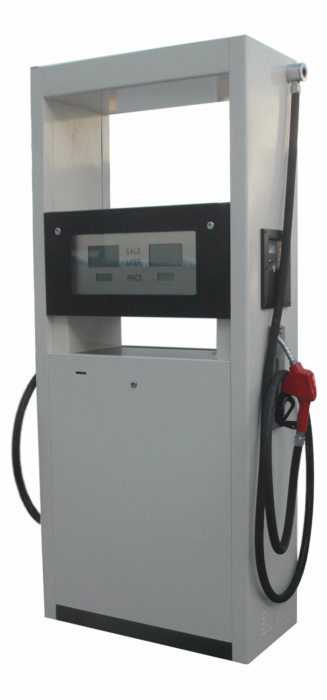 Two Nozzle One Pump Oil Station Fuel Dispenser with LED