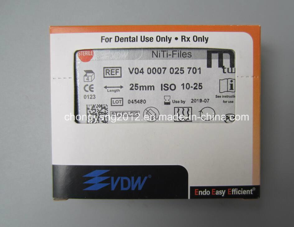 Endodontic Vdw Original Dental Rotary File Mtwo Niti Files