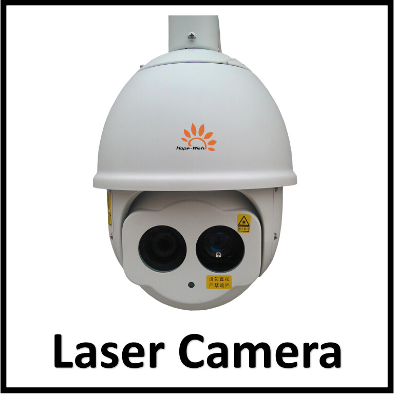 Scanner IR Laser Speed Dome Camera