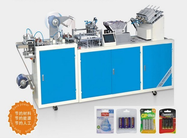 Dzp-400s Automatic Blister Card Packing Machine