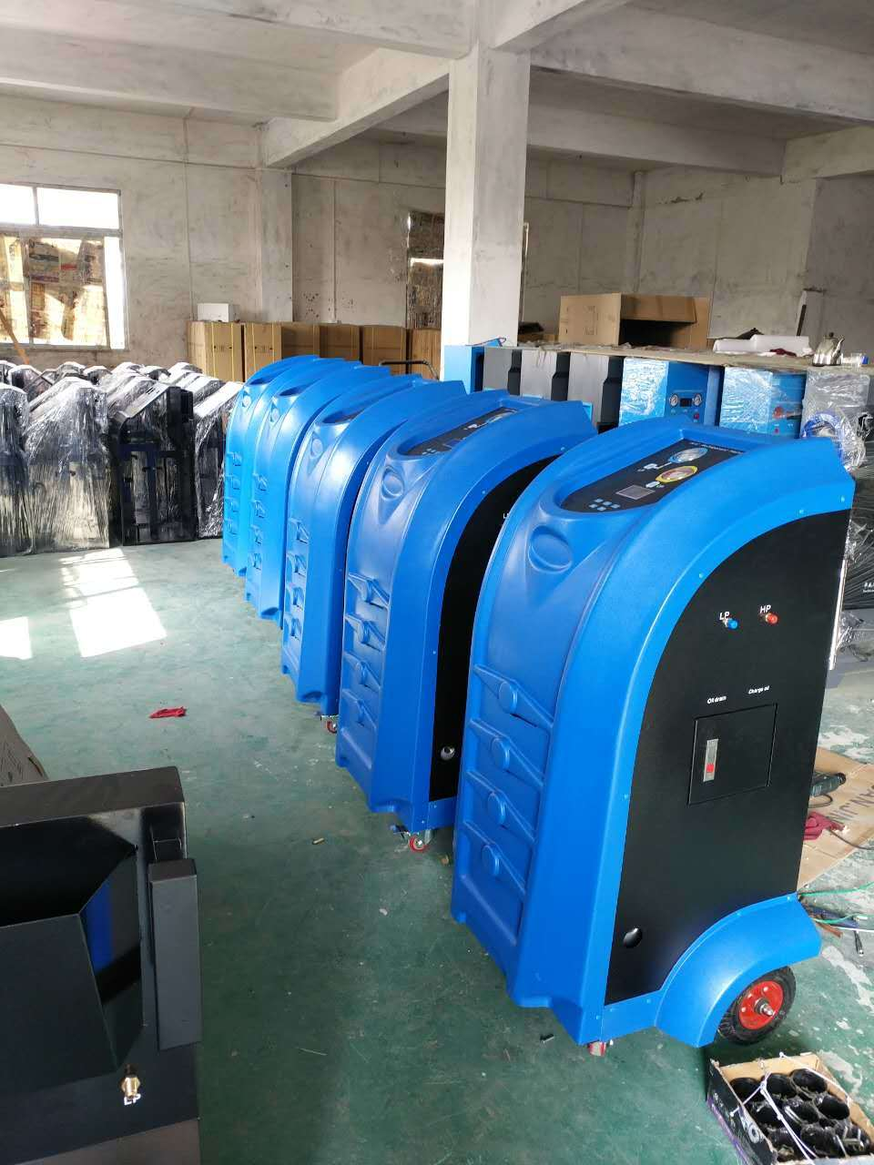 HW-980 Full Automatically Operation Refrigerant Recovery Machine