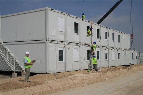 container d 39 abitazione modulare che alloggia l 39 unit