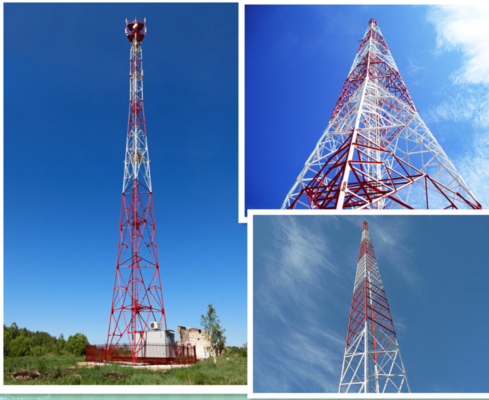 Self Supporting Communication Angle Steel Tower